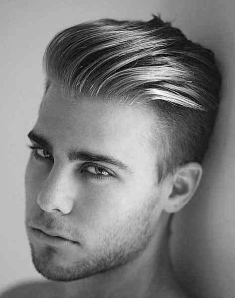 Slicked Back Undercut Modern Haircut Styles For Men