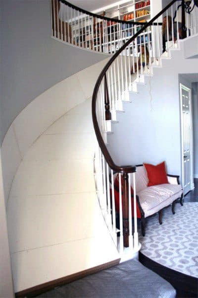 Slide Over Traditional Home Staircase Indoor Ideas