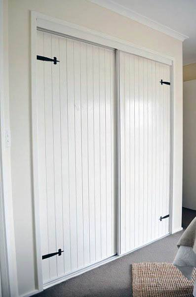 Sliding Closet Door Decorating Ideas
