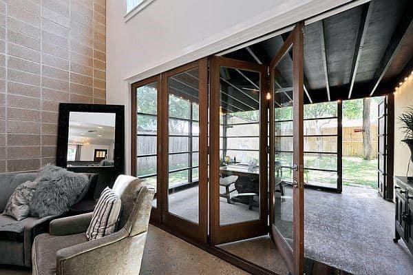 Sliding Glass Door Modern Sunrooms