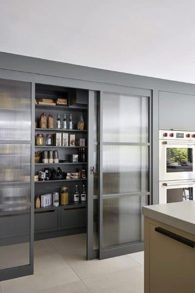 Sliding Glass Doors Kitchen Pantry Ideas
