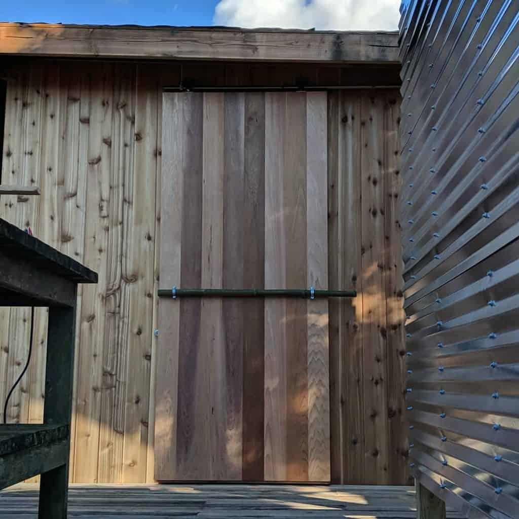 sliding shed door ideas danielmoyerdesign