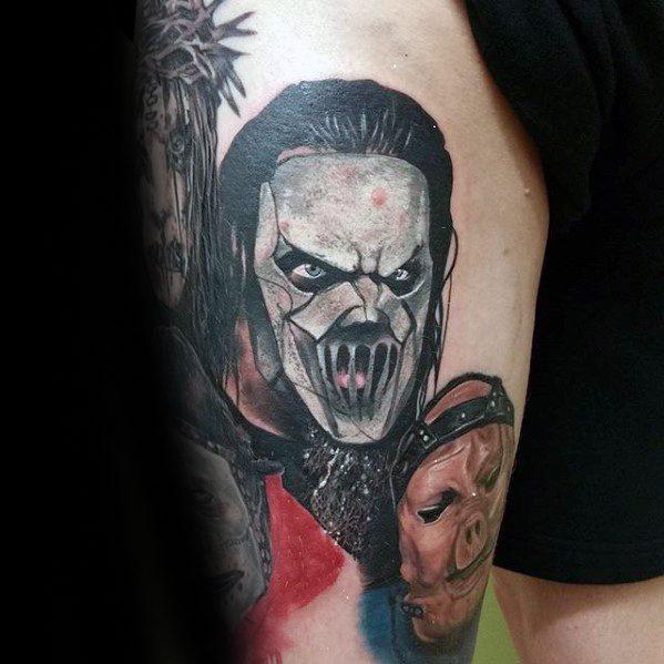 Slipknot Guys Tattoo Ideas