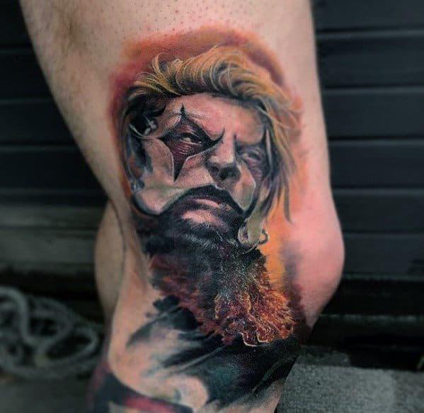 Slipknot Mens Tattoo Designs