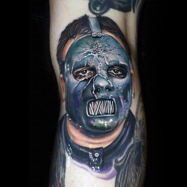 Slipknot Tattoo Design Ideas For Males