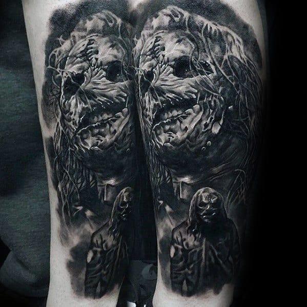 Slipknot Tattoo Ideas For Gentlemen
