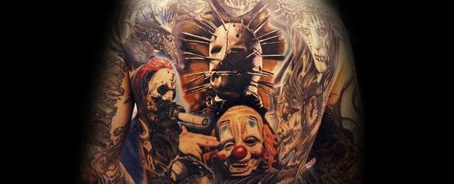 Slipknot Tattoos For Men
