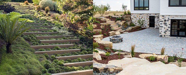 Top 50 Best Slope Landscaping Ideas Hill Softscape Designs