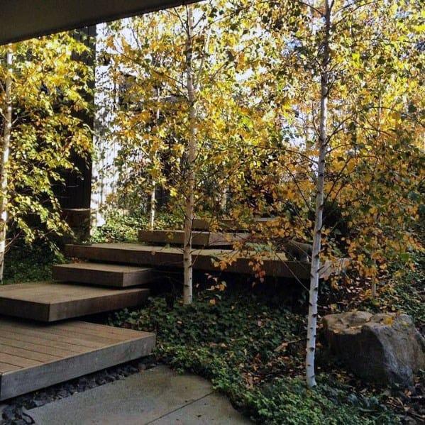 Sloped Backyard Floating Deck Spectacular Ideas