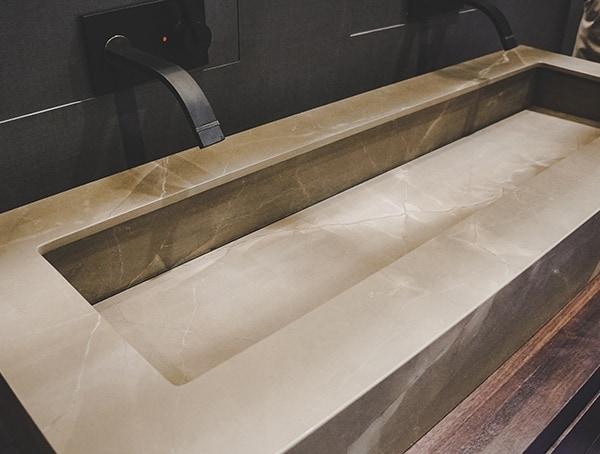 Sloped Hidden Drain Modern Sink Design 2019 Nahb Show Las Vegas