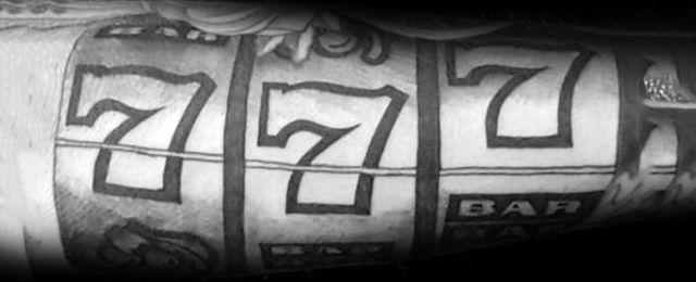 Slot Machine Tattoo Designs For Men