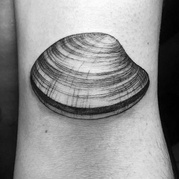 30 Clam Tattoo Designs For Men Shell Ink Ideas