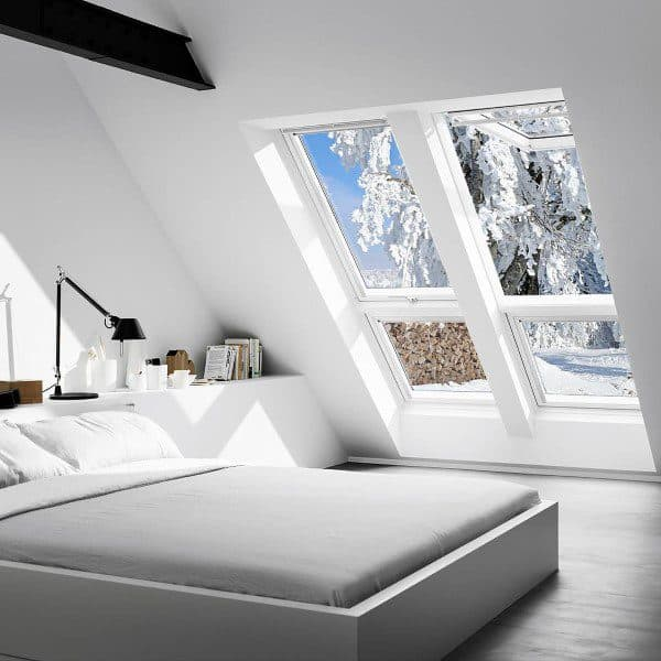 Small Attic Bedroom Design
