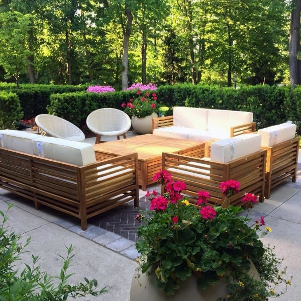 Top 50 Best Brick Patio Ideas - Home Backyard Designs on Small Backyard Brick Patio Ideas id=57936