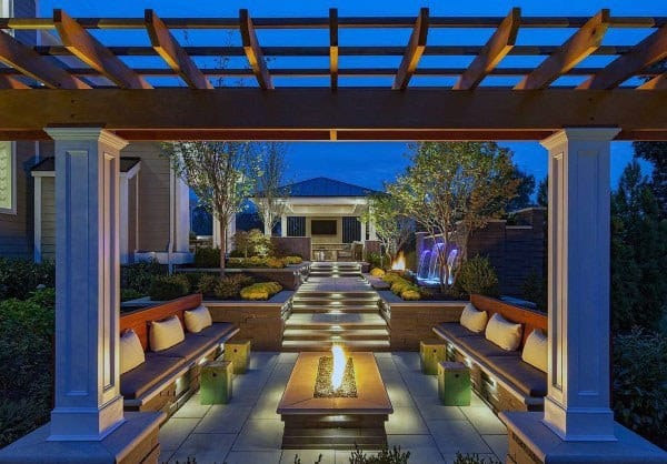 Top 50 Best Backyard Pavilion Ideas - Covered Outdoor ... on Small Backyard Layout id=76350