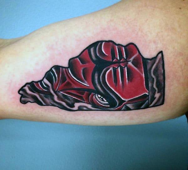 Small Basketball Tribal Tattoos On Men