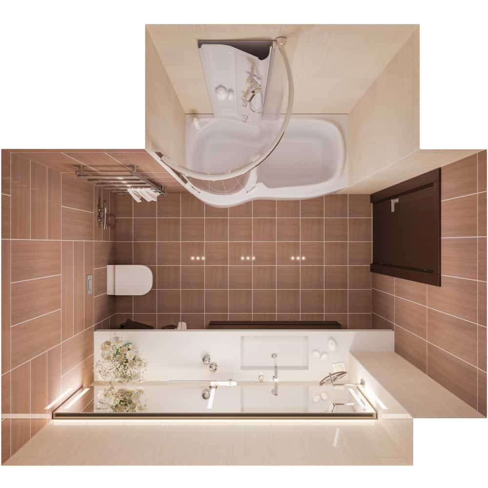 Small Bathroom Layout Ideas 12