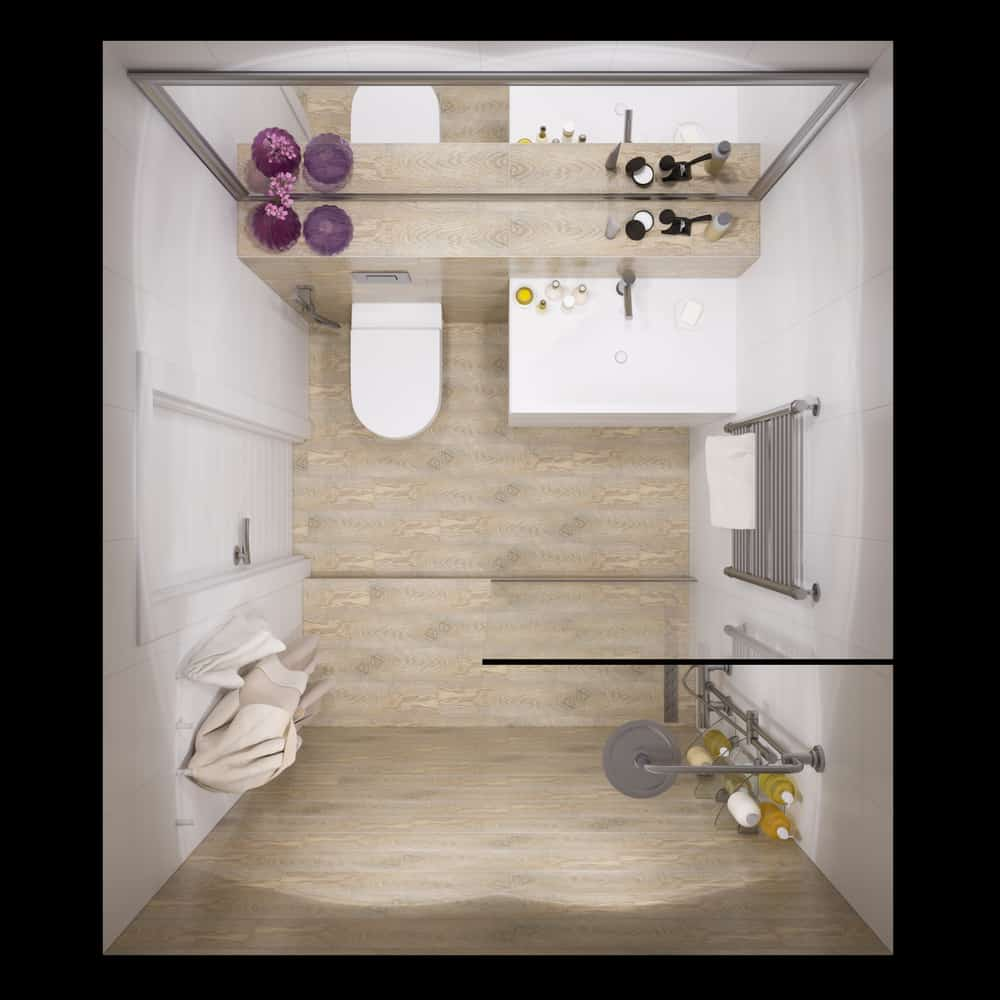 Small Bathroom Layout Ideas 7