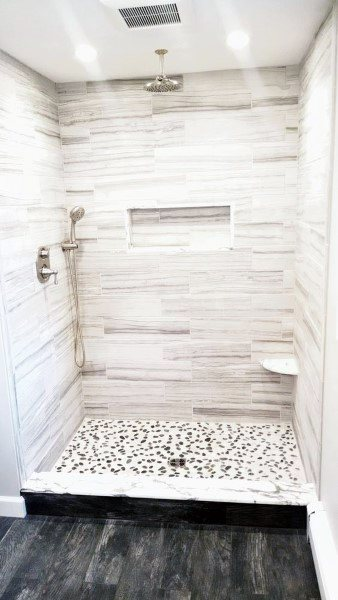 Incroyable Small Bathroom Shower Tile Ideas