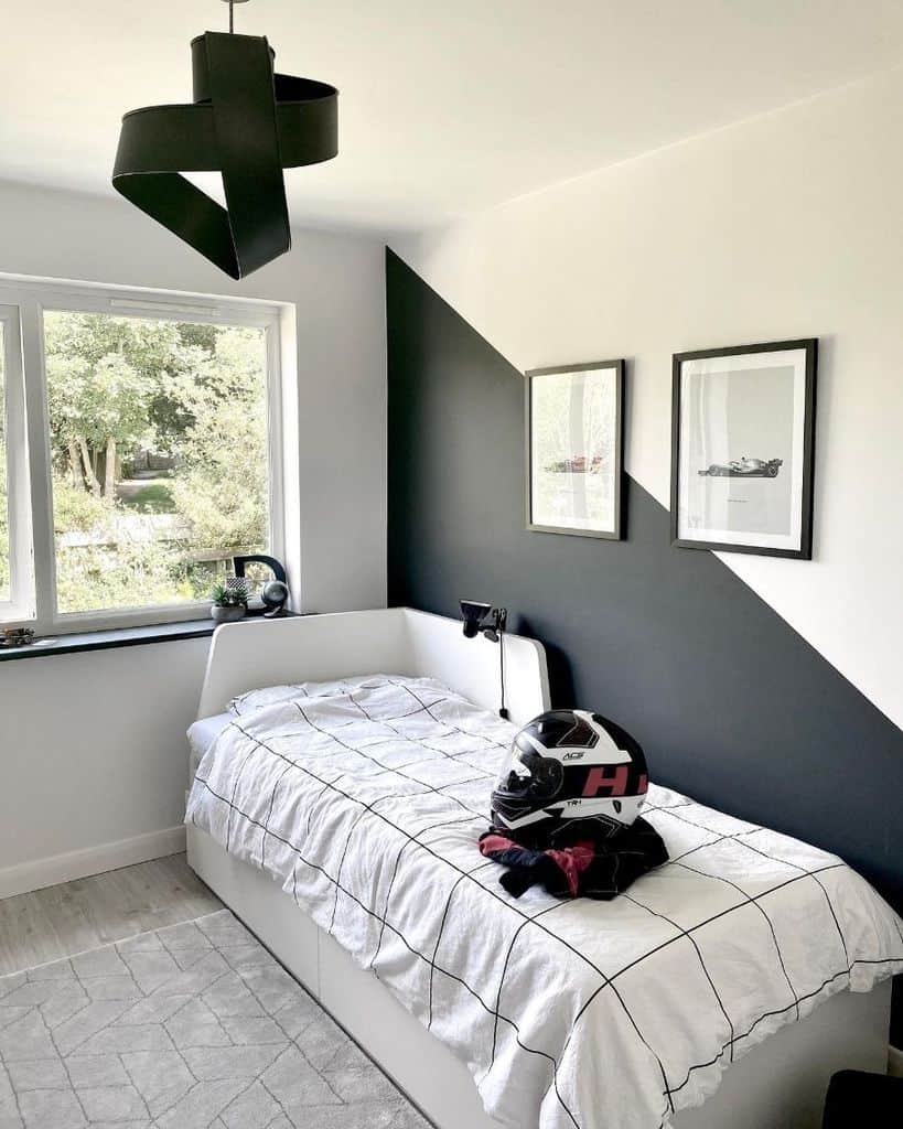 small black and white bedroom ideas fourboysplusonegirl