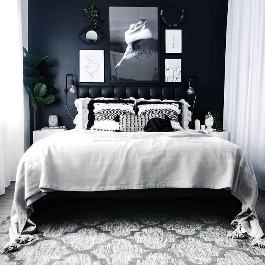 small black and white bedroom ideas zaneta_home_