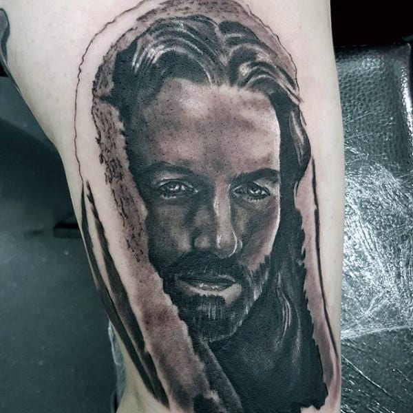 Small Christian Mens Tattoo Design Inspiration