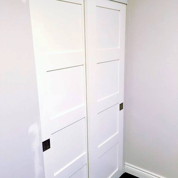 Small Closet Door Ideas