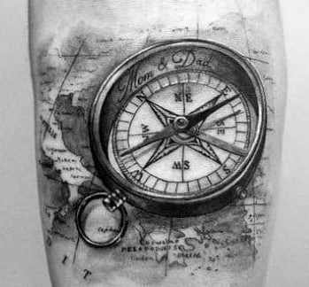 What Do Compass Tattoos Mean? [2021 Information Guide]