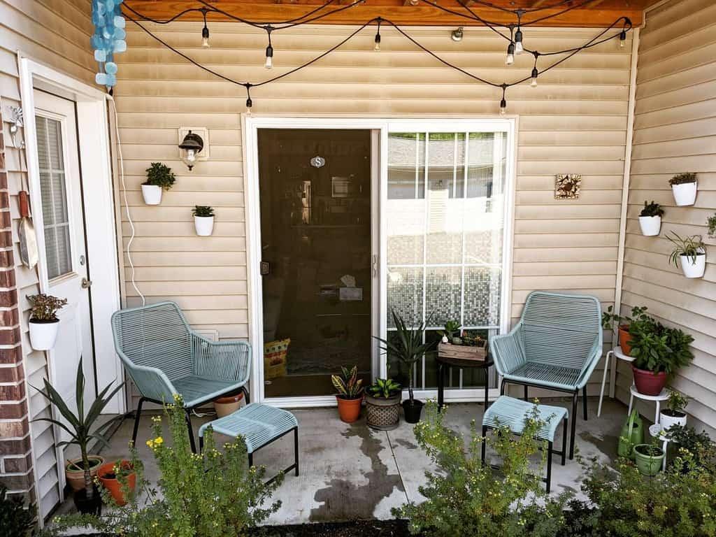 small covered patio ideas sherylsantos