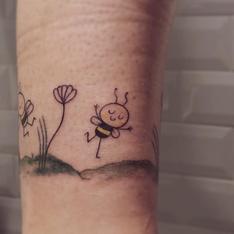 Small Cute Tattoo Cloroxarttattoo
