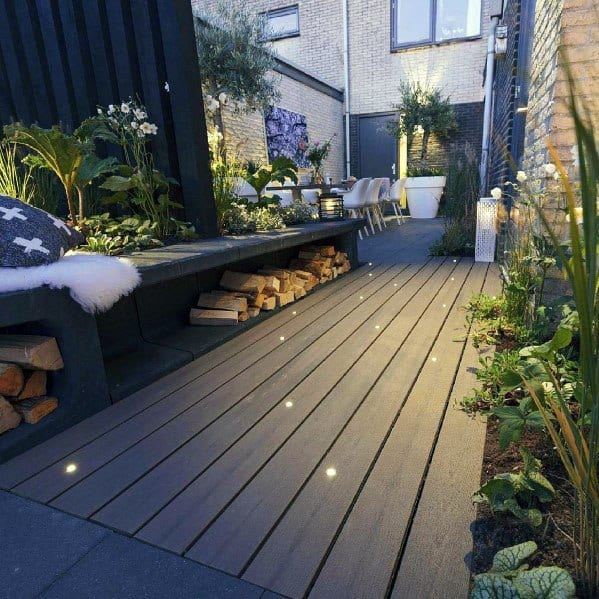 Small Deck Lighting Design Idea Inspiration