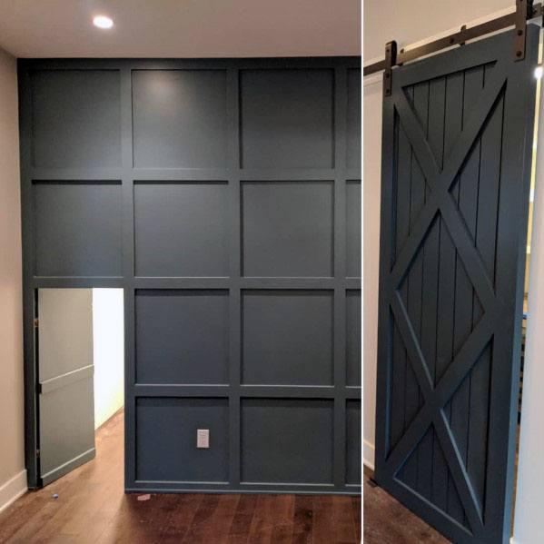 House Entrance Designs Exterior: Top 50 Best Hidden Door Ideas