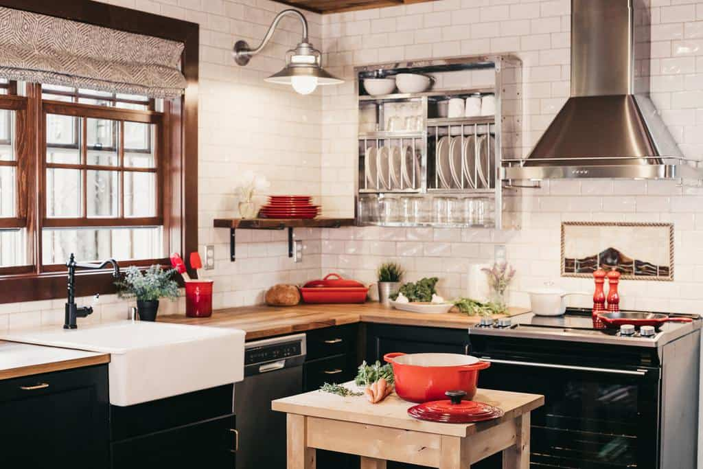 small farmhouse kitchen ideas 4