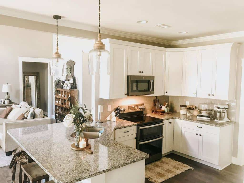 small farmhouse kitchen ideas maple.and.dickerson