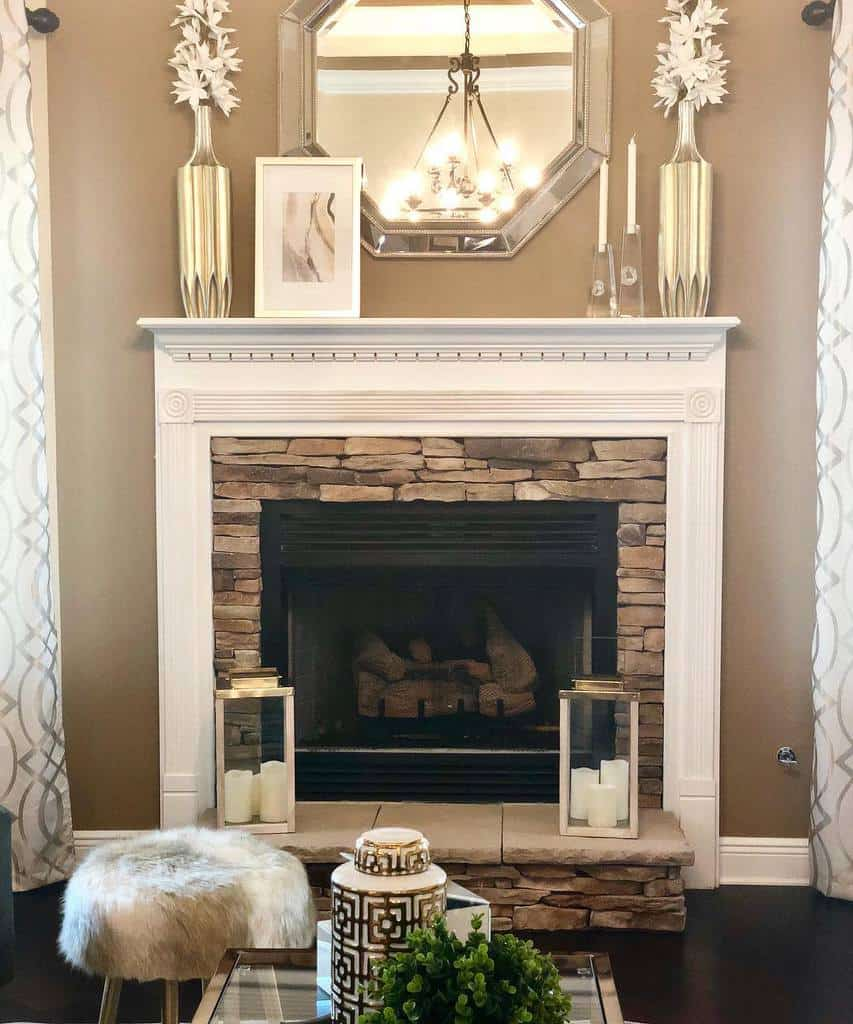 small fireplace wall ideas saltgrassdecor