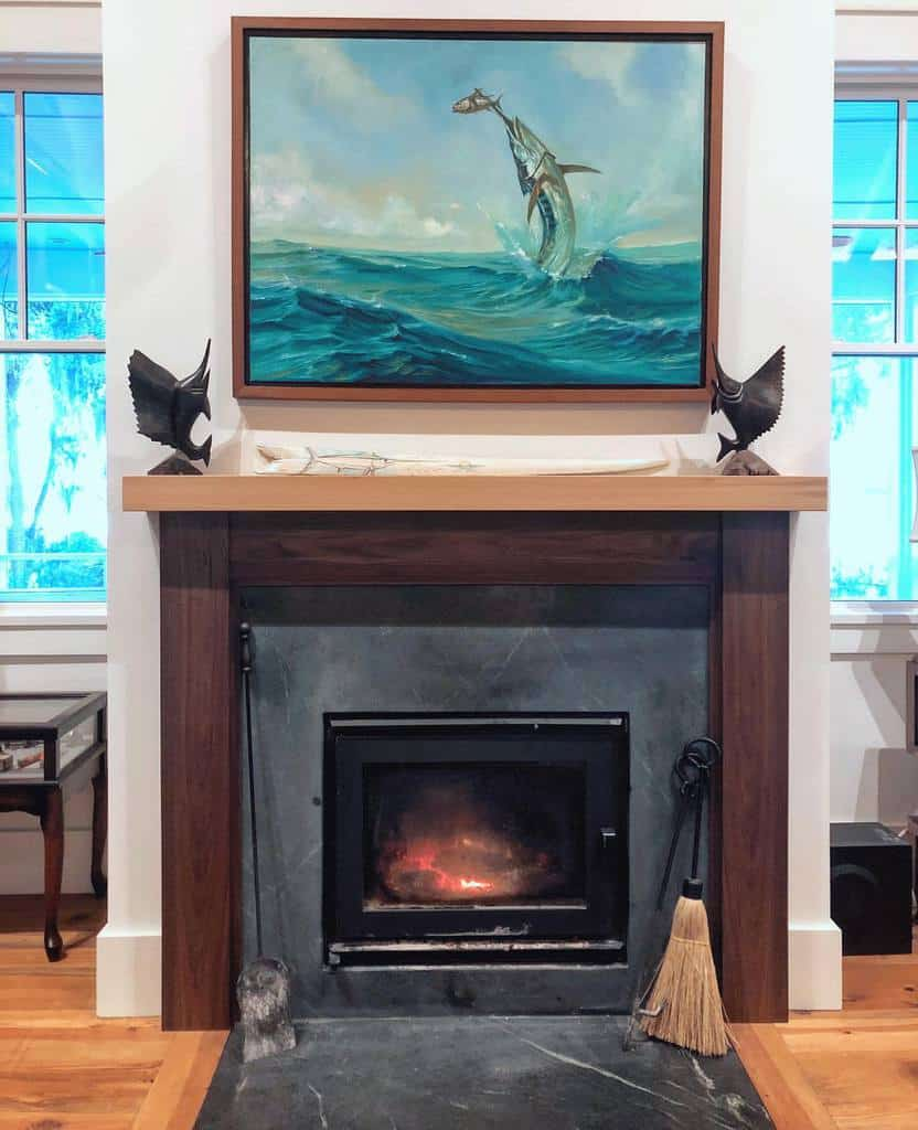 small fireplace wall ideas sanderswoodworksllc