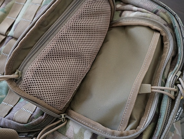 Small Front Top Pocket Open 5 11 Tactical Rush72 Backpack