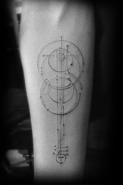 50 violin tattoo designs for men music instrument ink ideas. Black Bedroom Furniture Sets. Home Design Ideas