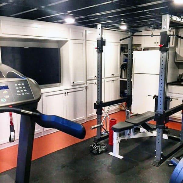 Small Home Gym Bench Press Designs