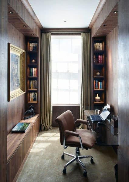 Small Home Office Design Ideas gorgeous small business office design ideas and affordable small office design ideas models Small Home Office Design Ideas Wooden Walls