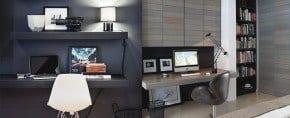 75 Small Home Office Ideas For Men – Masculine Interior Designs