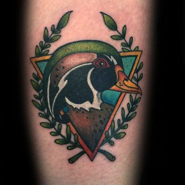 30 Wood Duck Tattoo Designs For Men Carolina Ink Ideas