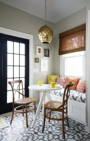 Small Interior Breakfast Nook Designs