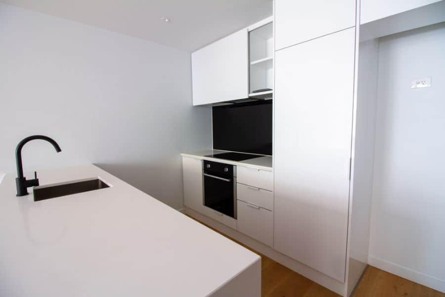 Small Kitchen Black And White Kitchen 14