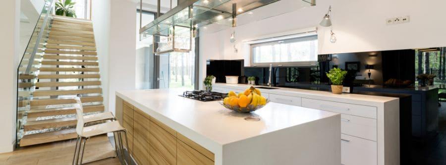 Small Kitchen Black And White Kitchen 8