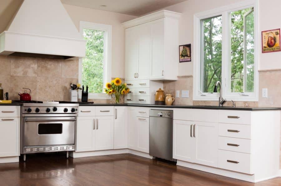 Small Kitchen Modern Farmhouse Kitchen 1