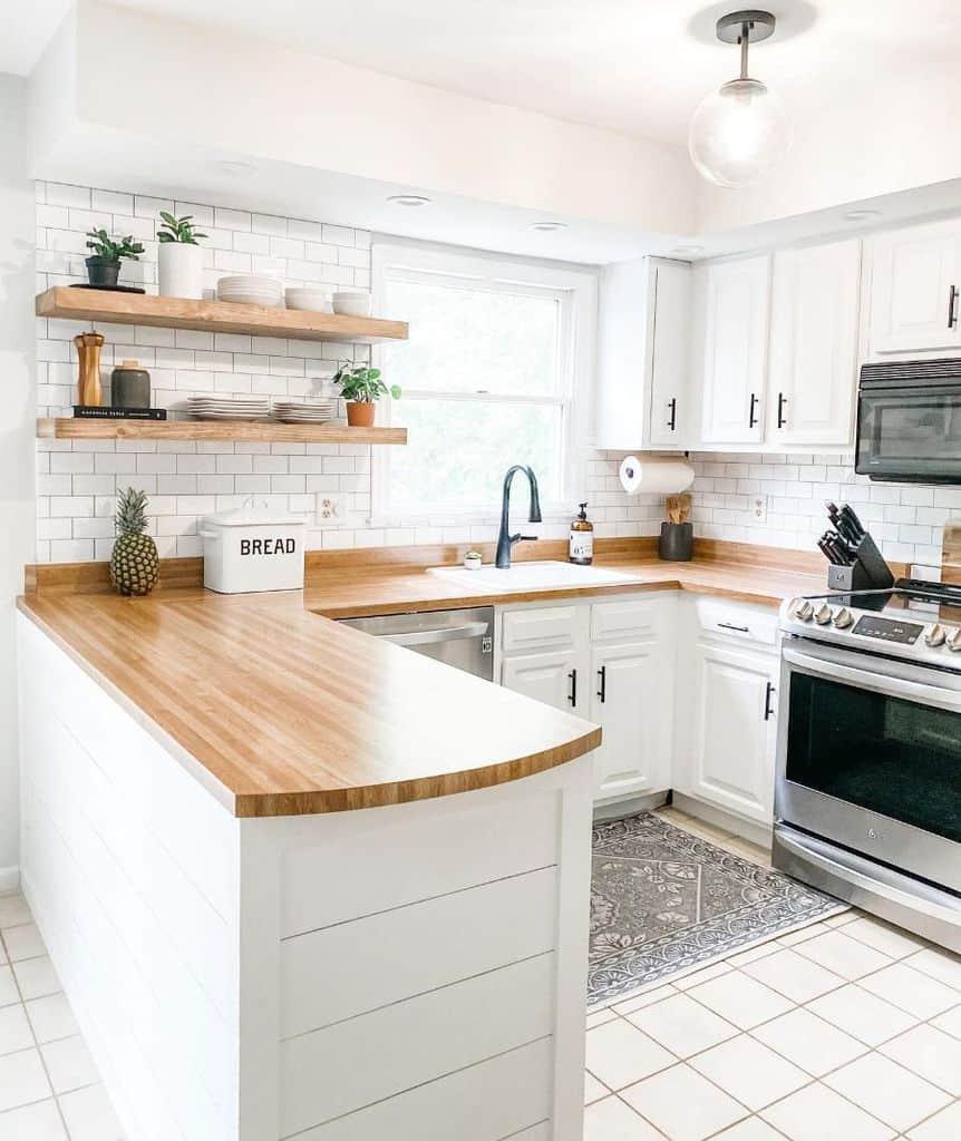 Small Kitchen Modern Farmhouse Kitchen Homemaker Mama
