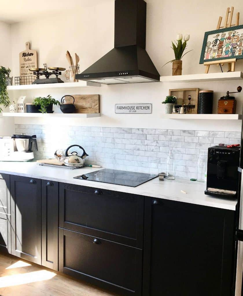 Small Kitchen Modern Farmhouse Kitchen Lamaisonaumagnolia