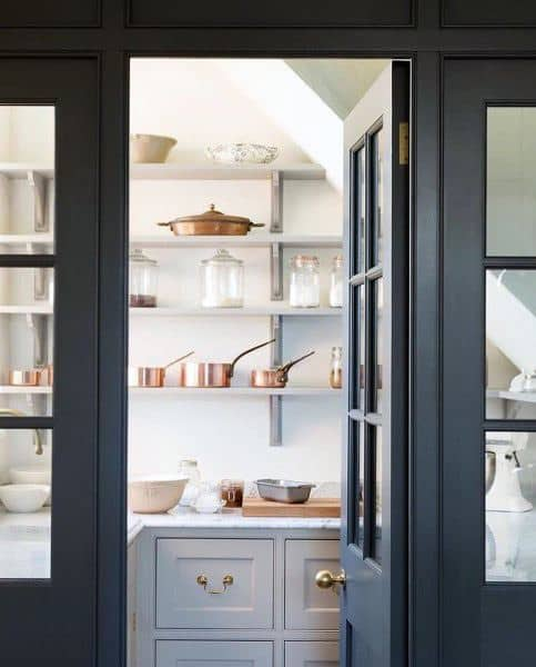 Tiny Kitchen Design Ideas For Small: Top 70 Best Kitchen Pantry Ideas