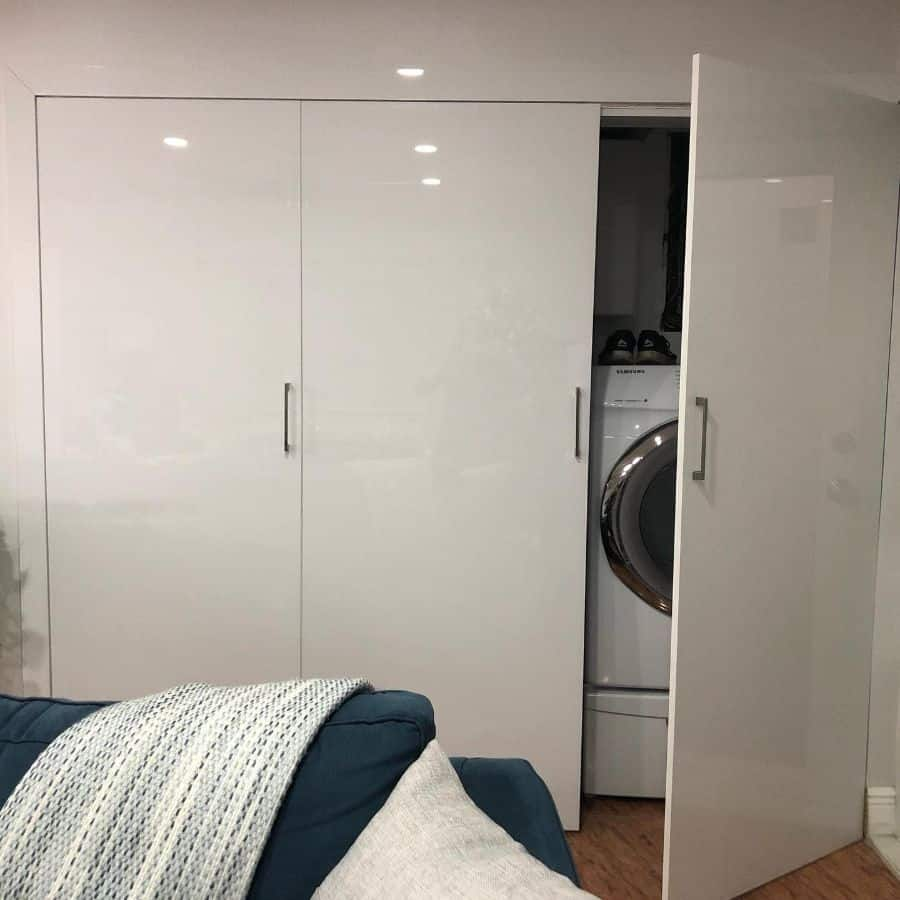 small laundry closet ideas aymillwork